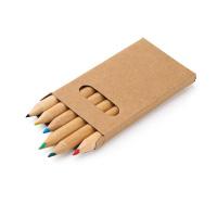 Caja con 6 lápices de color BIRD  - Ref. P91750