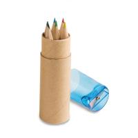 Caja con 6 lápices de color ROLS  - Ref. P91751