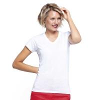 Camisetas MUJER SUBLIMACION COMFORT V-NECK LADY - Ref. HSBTSLCMFP