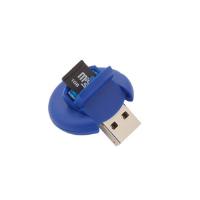 LECTOR TARJETAS USB 2.0. TARJETAS MICROSD APEK - Ref. M3398