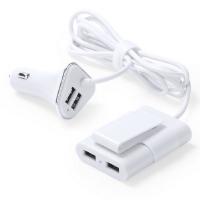 CARGADOR COCHE USB 4 SALIDAS USB. 3100 MA YOFREN - Ref. M5209