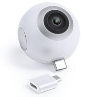 CÁMARA 360° CONEXIÓN MICRO USB Y TIPO C RIBBEN - Ref. M5771