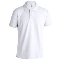 POLO ADULTO BLANCO MPS180 BARATO KEYA - Ref. M5862