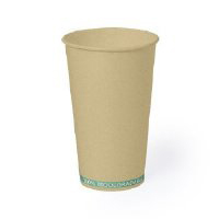 VASO BIODEGRADABLE 500 ML HECOX - Ref. M6161