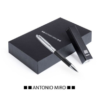 SET POWER BANK CABLE INCLUIDO Y BOLÍGRAFO METÁLICO DROSPEN ANTONIO MIRÓ - Ref. M7320