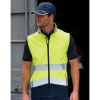 Chaleco softshell de seguridad imprimible - Ref. F08733
