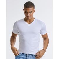Camiseta orgánica Pure cuello V hombre  - Ref. F12300