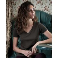 Camiseta Luxury cuello V mujer  - Ref. F13054