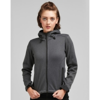 Fleece con capucha mujer - Ref. F42052