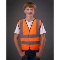 Chaleco de seguridad Fluo niño - Ref. F43577