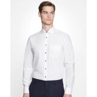 Camisa Seidensticker Contrast Patch Regular Fit 1/1 business cuello kent - Ref. F72120