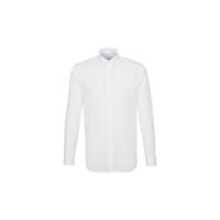 Camisa ajustada y abotonada en cuello Business - Ref. F73020