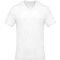 Camiseta Cuello Pico Blanca - Ref. CK370W