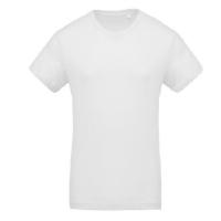 Camiseta Organica Cuello Redondo White - Ref. CK371W