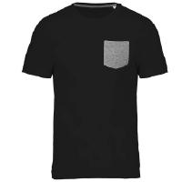 Camiseta Orgánica con Bolsillo - Ref. CK375