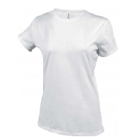 Camiseta Mujer manga corta Blanca - Ref. CK380W