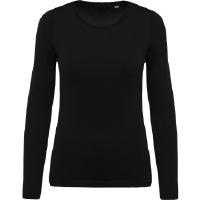 Camiseta Organica Cuello Redondo M/Larga Mujer - Ref. CK392