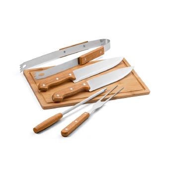 Set barbacoa FLARE acero inoxidable - Ref. P54142
