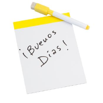 PIZARRA MAGNÉTICA ROTULADOR Y BORRADOR INCLUIDOS YUPIT - Ref. M3922