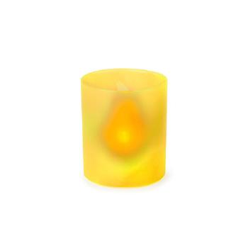 VELA ELÉCTRICA 1 LED. PILA BOTÓN INCLUIDA FIOBIX - Ref. M4694