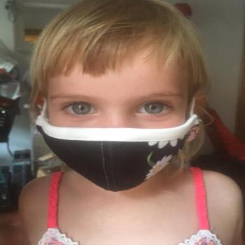 Mascarilla Reutilizable Lavable y personalizable niño - Ref. BMASRNK