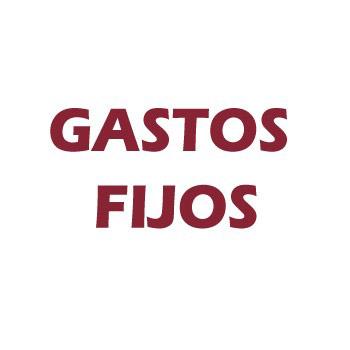 GASTOS FIJOS - Ref. GF