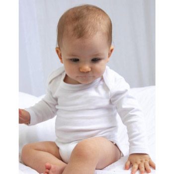 Body orgánico manga larga bebé - Ref. F01547