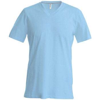 Camiseta Hombre manga corta  Cuello Pico - Ref. CK357