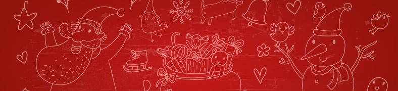 Llaveros navideños